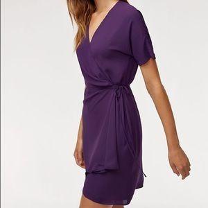 Aritzia Babaton Purple Wallace Dress (XXS)